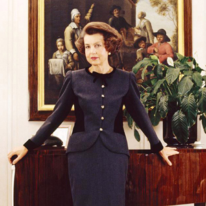 French L'Oreal heiress Liliane Bettencourt