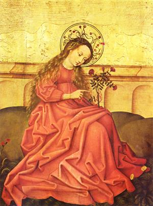 Vierge-au-jardinet-Maître-rhénan-anonyme-Musée-de-lŒuvre-Notre-Dame