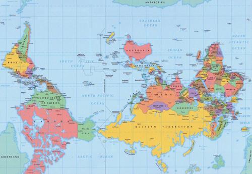 carte-monde-inversé