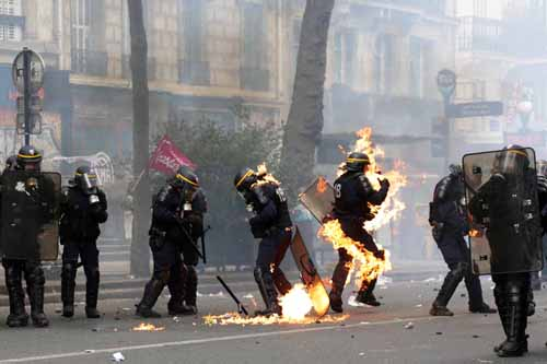 FRANCE-LABOUR-MAYDAY-DEMO